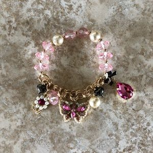 [NWOT] Betsey Johnson Butterly Bracelet